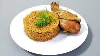 ВОТ ТАК КУРИЦУ ЕЩЕ НИ РАЗУ НЕ ГОТОВИЛ / Горячие блюда  / Курица с рисом в духовке