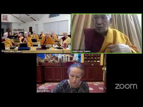 07 Pramanavarttika with Geshe Yeshe Thabkhe: The Truth of Origination 10-10-20