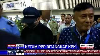 Kena OTT, Ketum PPP Rommy Tiba di Jakarta