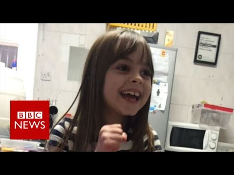 Manchester attack: Father pays tribute to youngest Manchester victim - BBC News