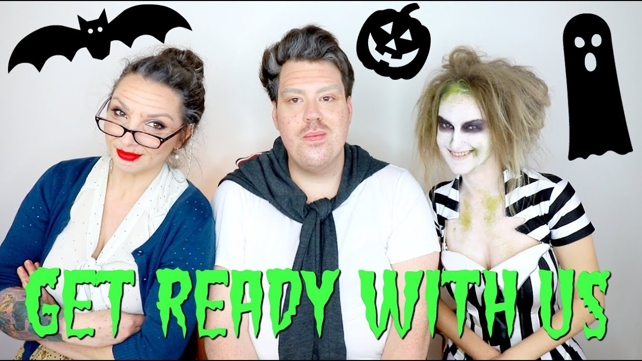 Grwm Halloween Costumes With Simon From The Skincare Obsessive Youtube Natural makeup tutorial   grwm outfit + makeup + hair ♡. youtube