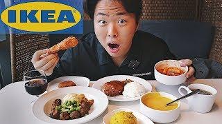 Корейская Еда в IKEA! Токпокки, Тонкасы и Фрикадельки!