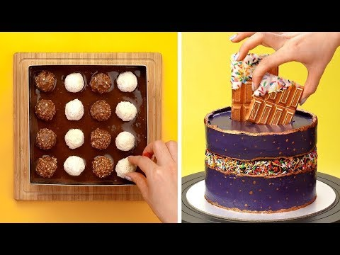 10 Chocolate Decoration Ideas to Impress Your Dinner Guests | How To Make Cake Decorating Ideas