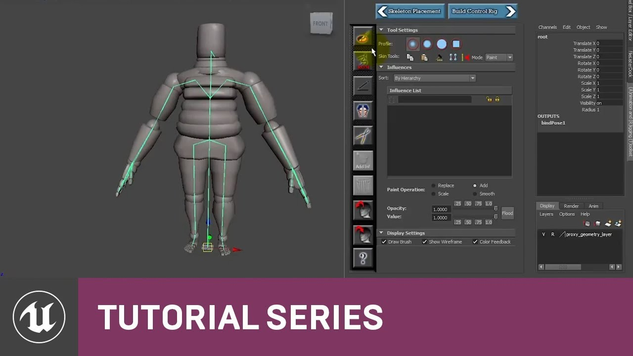 UE4 - Animation and Rigging Toolkit tutorial - Unreal Engine