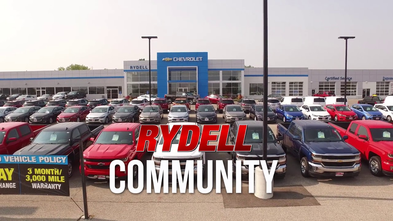 Cedar Falls Car Dealerships >> Chevrolet Dealer In Waterloo Ia Rydell Chevrolet