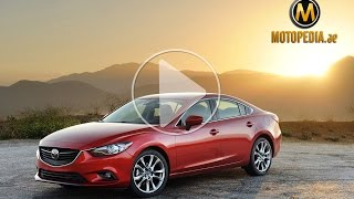 2014 Mazda 6 review - تجربة مازدا 6 - Dubai UAE Car Review by Motopedia.ae