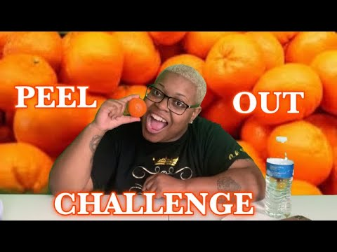 CHELLE EATS PEEL OUT CHALLENGE from YouTube · Duration:  9 minutes 21 seconds