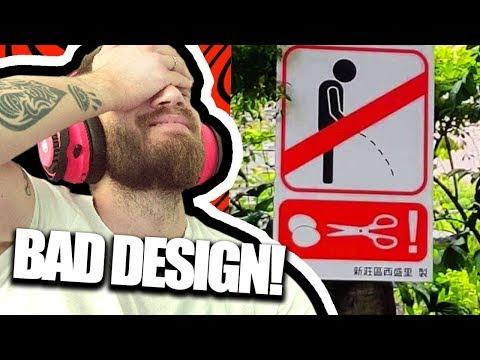 Bad Design is Hilarious!