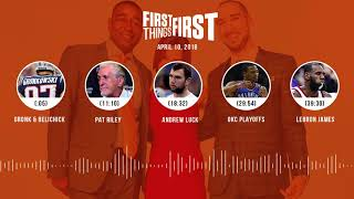 First Things First audio podcast(4.10.18) Cris Carter, Nick Wright, Jenna Wolfe | FIRST THINGS FIRST thumbnail