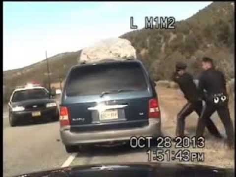 Cops Shoot At Minivan Filled With 5 Kids [Dash Cam]