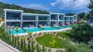 Lagomandra Beach Hotel 4 Лагомандра Бич отель Греция Лагомандра обзор отеля территория пляж