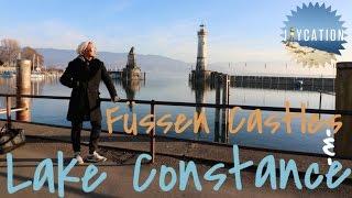 Discover Füssen Castles & Lake Constance  | Lindau Germany Travel Vlog