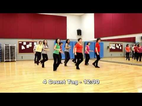 Rock & Roll - Line Dance (Dance & Teach in English & 中文)