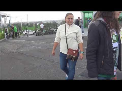 Flat Earth - Celtic Park Activism (YNWA)