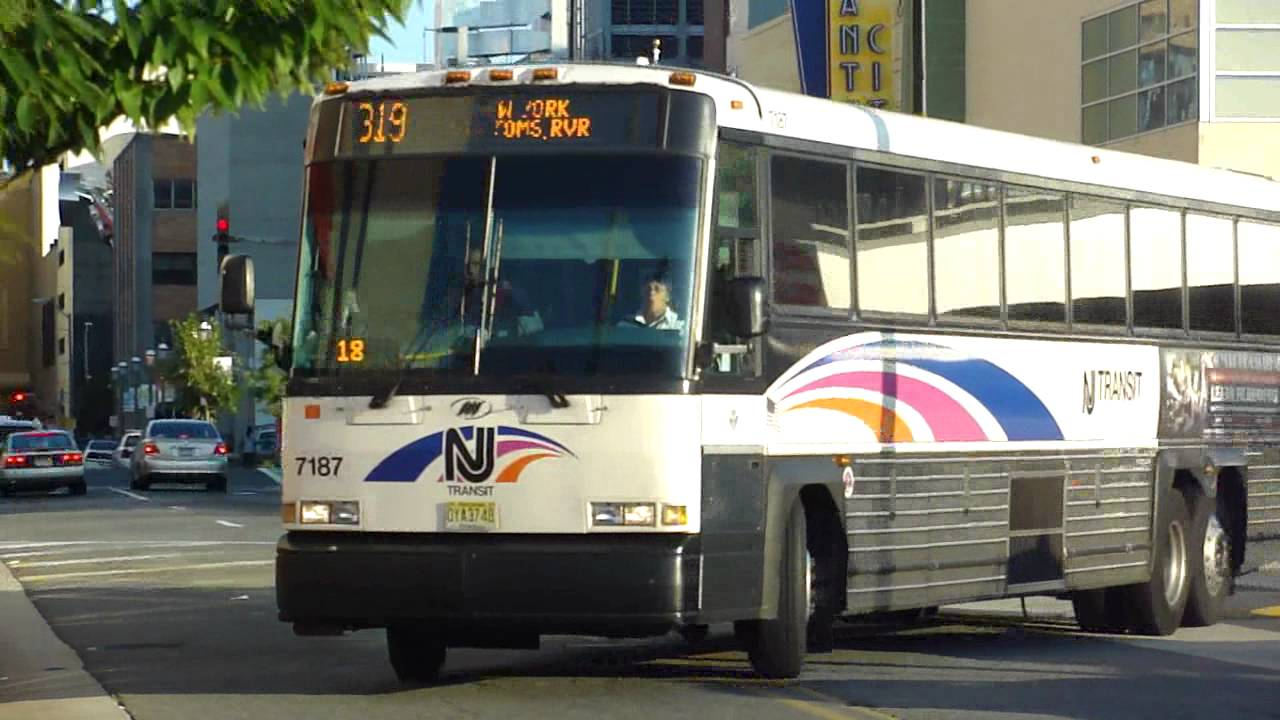 Nj transit bus 2007 mci d4500cl route 319 express bus - Bus from port authority to jersey gardens ...