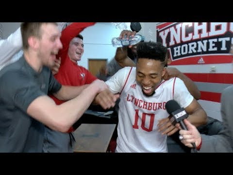 Lynchburg Postgame: Deitrich Brown vs Shenandoah