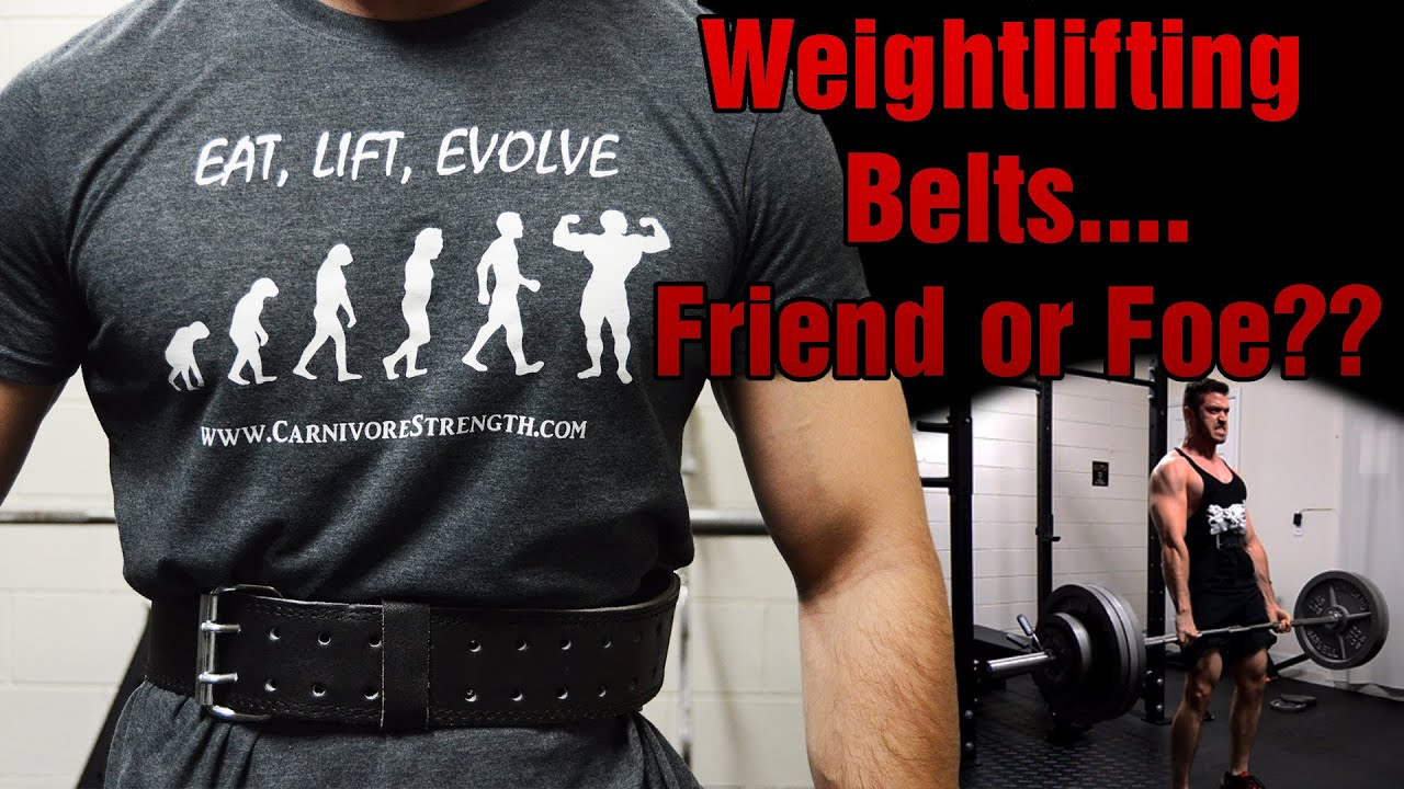 2019 year lifestyle- Lifting weight belt how to wear