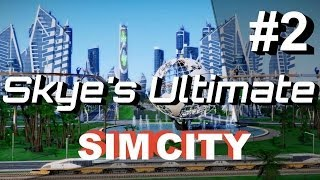 SimCity 5 (2013) Gameplay/Lets Play #2 ►The Academy's Capital◀ Cities of Tomorrow