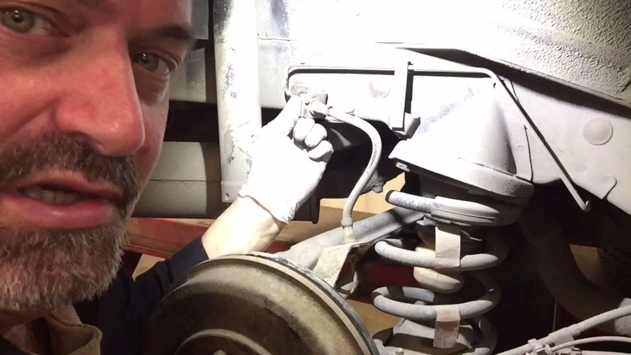 Replacing Ford Escape Brake Hoses Mazda Tribute Brake