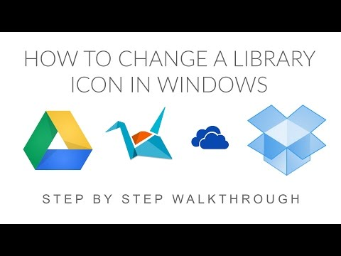How to Change a Library Icon in Windows