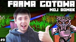 Minecraft Po Polsku Survival na Modach | FARMA GOTOWA - OBRÓBKA DOMU