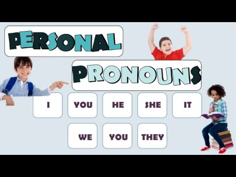 Subject Pronouns: English Language