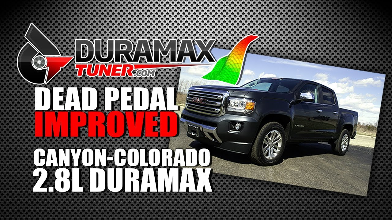 Colorado Canyon Duramax 2 8L Dead Pedal Improved