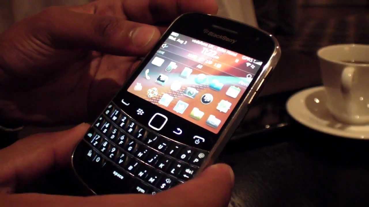 BlackBerry Bold 9900 Video Walkthrough