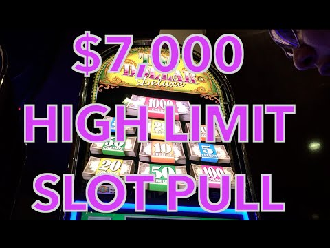 ✦✶HUGE $7,000 HIGH LIMIT Slot Play ✶✦ FULL 40 Minute Video!