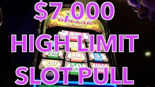 ✦✶HUGE $7,000 HIGH LIMIT Slot Play ✶✦ FULL 40 Minute Video! - HAND PAYS at Cosmo in Vegas