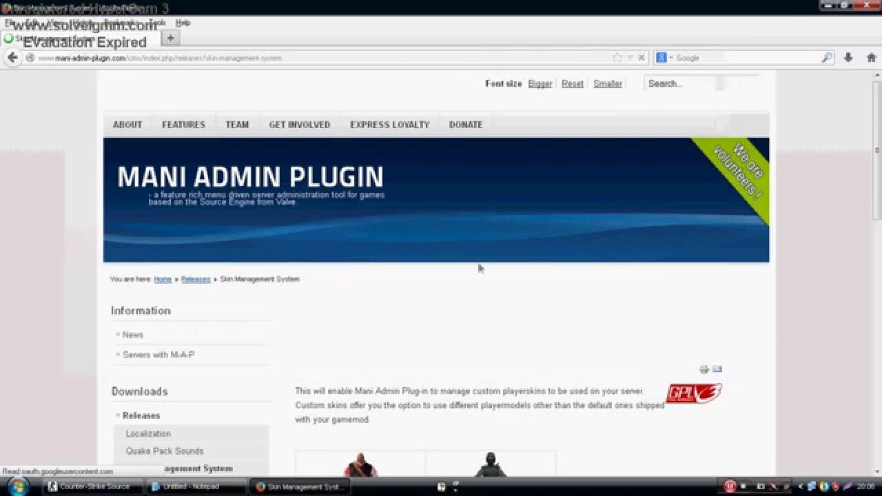 mani admin plugins