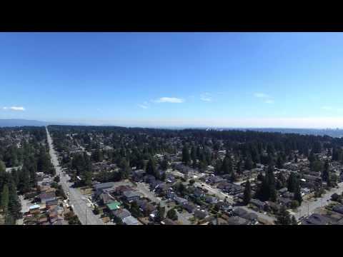 Canada, Vancouver, Coquitlam, Como-Lake ave. 4K Video