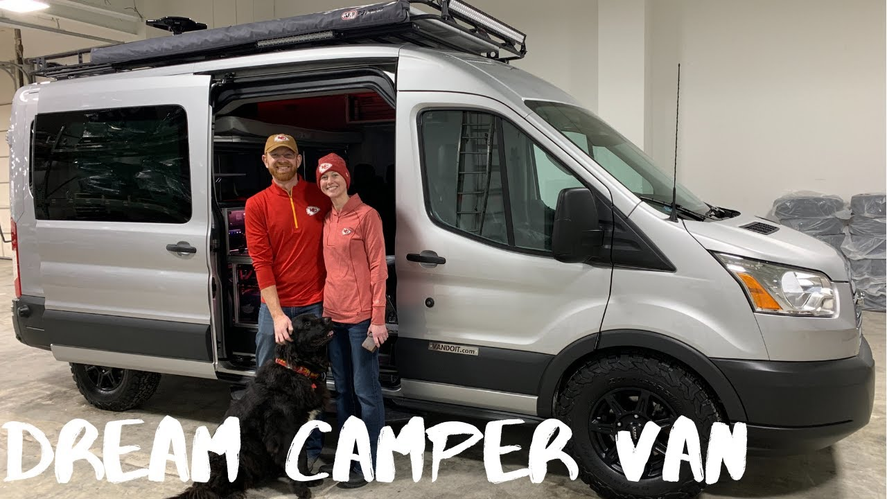 Ford Transit Passenger Van >> Ford Transit Camper Van - Engineer Couple Helps Build Their dream VanDOit Camper Van - YouTube