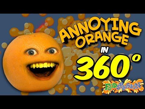 Annoying Orange in 360 Degrees!   FOODSPLOSION! (feat. Shira Lazar)