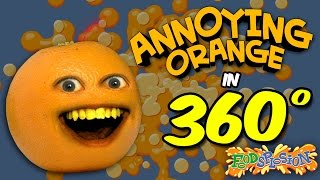 Annoying Orange in 360 Degrees! | FOODSPLOSION! (feat. Shira Lazar)