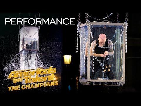 Spencer Horsman Attempts His MOST DANGEROUS Escape Yet! - America's Got Talent: The Champions