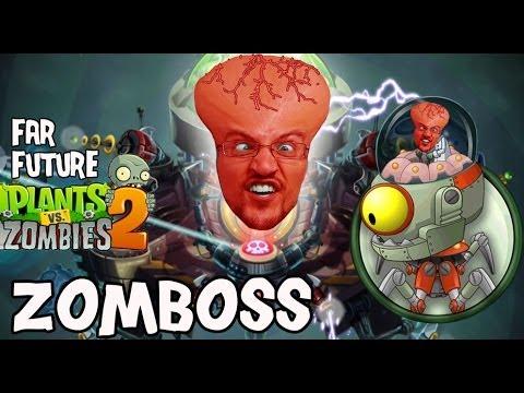 Lets Play Plants vs. Zombies 2: Dad vs. Zomboss Far Future Final Battle