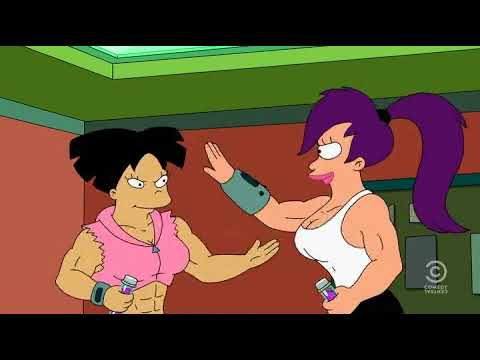 Futurama Leela Amy Whassup Ladies