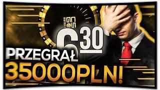 MÓJ ZNAJOMY PRZEGRAŁ 35.000 PLN!!