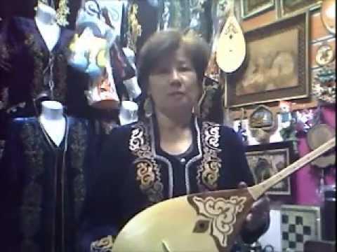 Казахская национальная одежда и сувениры