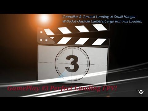 Star Citizen 3.8,2 - Anvil Carrack & Cat. Landing Tutorial FPV