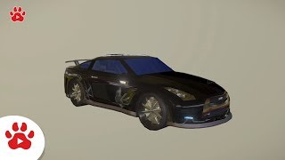 Sports Car Toyota Turbo Argoaut Sport Car | Super Cars for Kids | #h Colour Song for Kids