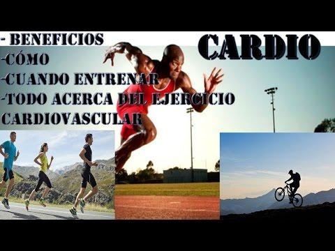 EL CARDIO: Beneficios, cómo y cuántos días entrenar y todo sobre el ejercicio cardiovascular.