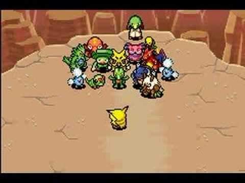 Pokemon Mystery Dungeon (Red) Ending
