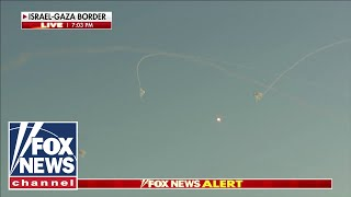 Israel's Iron Dome withstands rockets from Hamas