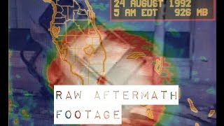 Hurricane Andrew 1992: Raw Aftermath Footage