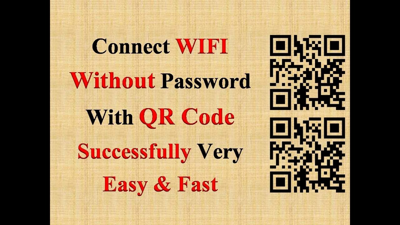 How To Connect Wifi Without Password With Qr Code Successfully!