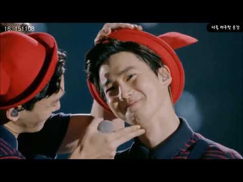 (귀여움 주의!)The EXO'luXion(엑솔루션) Peter Pan(피터팬)중 세훈찬열백현타임 모음!!