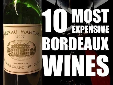 Top 10 Most Expensive Bordeaux Wines