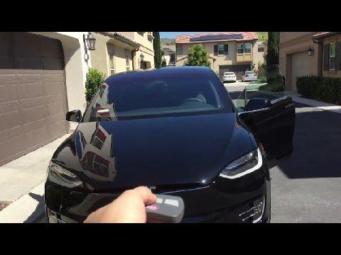 Tesla Model X Day 3 - Homelink Setup